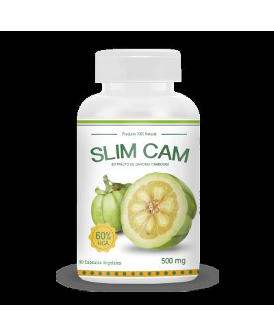 SLIM CAM - Extracto de Garcinia Cambogia (90 CÁPS. VEGETALES / 500MG)